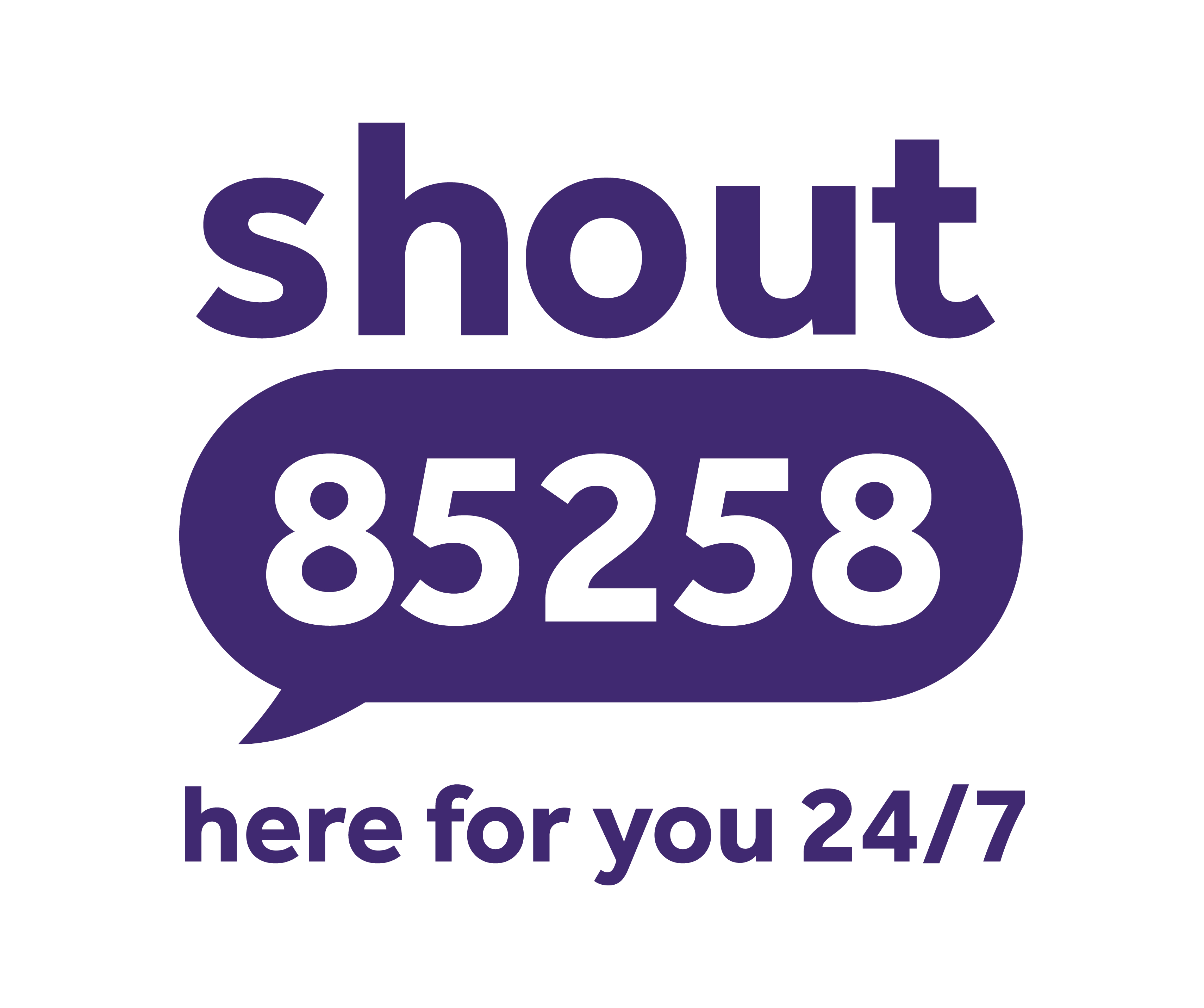 Share the number   Shout 85258