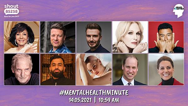 The Mental Health Minute Celebrity headshots