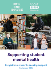 Student mental health report cover